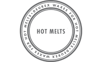 Waxes for hot melts
